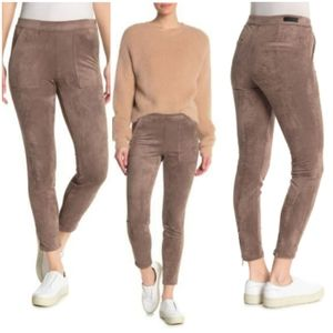 NEW Blank NYC Cropped Faux Suede Skinny Pants